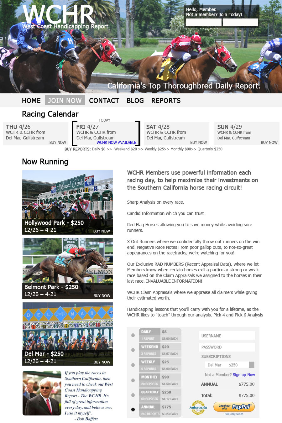 The truth about – Buying links from other handicapping websites