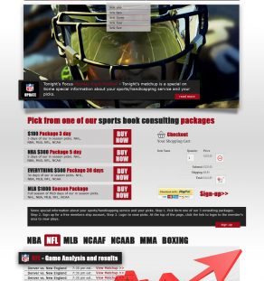 Sports Handicapping WordPress Theme