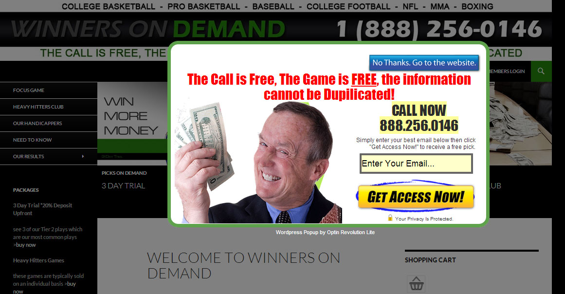 A free tool that will make your handicapping website instantly more profitable!