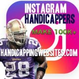 Instagram Handicapper account management for handicappers and sports books.