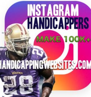 Instagram Handicapper account social media management for handicappers and sports books.